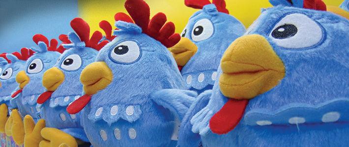 Galinha Pintadinha registra crescimento de 50% nas vendas de brinquedos em 2018
