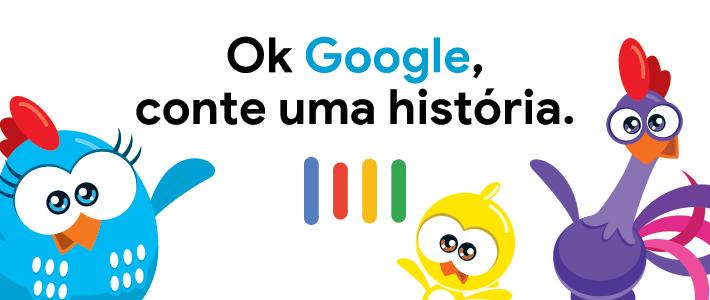 Audiolivros da Galinha Pintadinha são lançados no Google Assistente