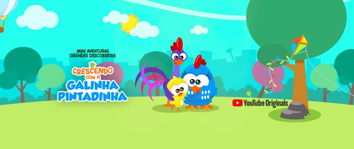 Galinha Pintadinha lança nova série pelo YouTube Originals